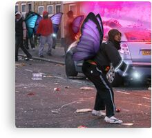 Fairytale Rioters Canvas Print