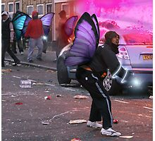 Fairytale Rioters Photographic Print