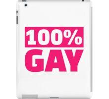100% gay iPad Case/Skin