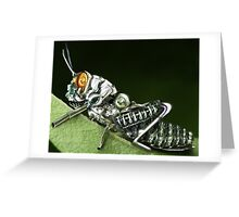 Insect robot Greeting Card