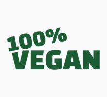 100% Vegan Kids Tee