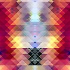 Abstract Geometric Spectrum 2 by Phil Perkins
