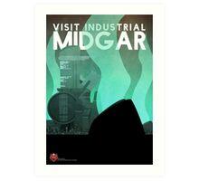 Midgar Travel Poster Art Print