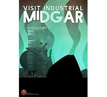 Midgar Travel Poster Photographic Print