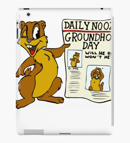 Groundhog Day T-Shirt iPad Case/Skin