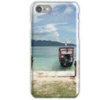 Cast away to Gili Islands iPhone Case/Skin
