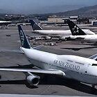 Air New Zealand 747 at San Francisco by Jamie Baldwin