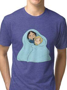yumikuri cuddles [SnK] Tri-blend T-Shirt