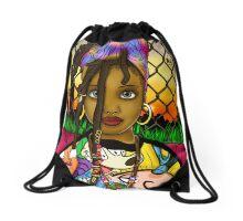 Indigo (Star Child) Drawstring Bag