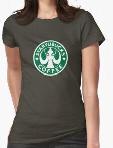 StaryuBucks Coffee Womens Fitted T-Shirt
