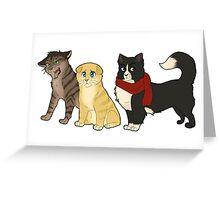 shineko no kitties Greeting Card