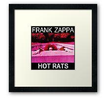 Frank Zappa Hot Rats Shirt Framed Print
