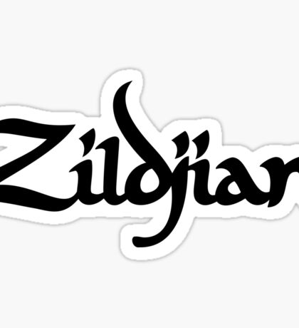 Zildjian. Sticker