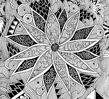Tangled Flower by jukaartist