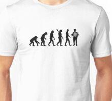 Evolution Accordion player Unisex T-Shirt