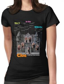 Clue Womens Fitted T-Shirt