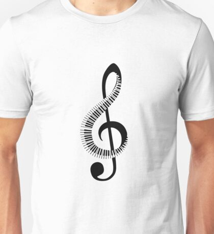 piano, note Unisex T-Shirt