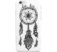 JUKA 'Live Free' Dream Catcher iPhone Case/Skin