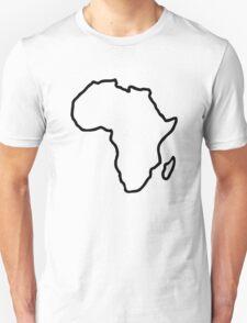 Africa map Unisex T-Shirt