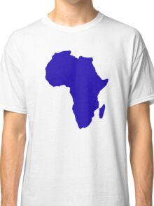 Africa map Classic T-Shirt