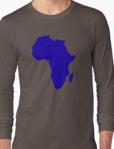 Africa map Long Sleeve T-Shirt