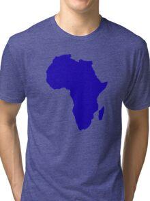 Africa map Tri-blend T-Shirt