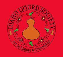 IDGS - Idaho Gourd Society Logo Pillows & Totes - Red by Subwaysign