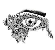 JUKA Angry Eye by jukaartist