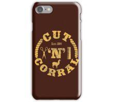 Cut 'N' Corral iPhone Case/Skin