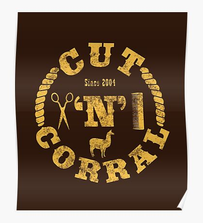 Cut 'N' Corral Poster