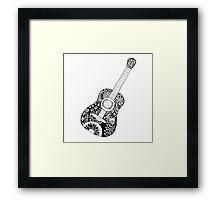 JUKA Guitar Framed Print