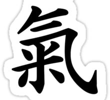 Aikido chinese signs  Sticker