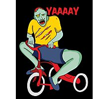 Zombie Yay! Photographic Print