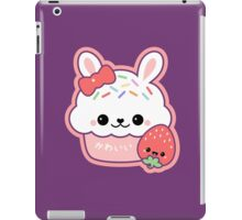 Cute Bunny Cake iPad Case/Skin
