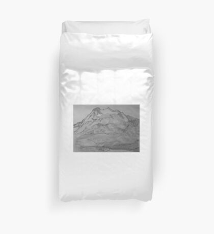 Cascade Pass and Sahale Arm  Duvet Cover
