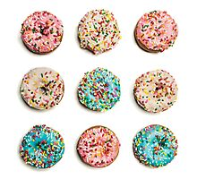 Royal Donuts with Sprinkles Photographic Print
