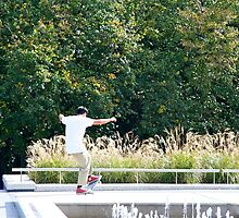 Getting the hang of skateboarding by Maggie Hegarty