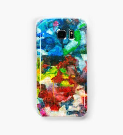 Blocks - Colours Samsung Galaxy Case/Skin