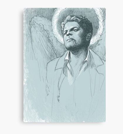 Castiel. Not Broken Canvas Print