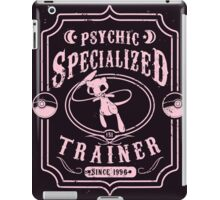 Psychic Specialized Trainer iPad Case/Skin