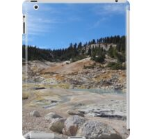 Geothermal Activity at Bumpass Hell iPad Case/Skin