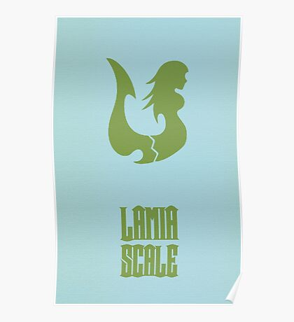 Lamia Scale Poster