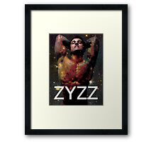 Zyzz - Son of Zeus, Brother of Hercules, Father of Aesthetics Framed Print