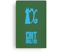 Cait Shelter  Canvas Print