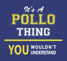 It's A POLLO thing, you wouldn't understand !! by satro