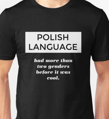 POLISH LANGUAGE T-shirt. Limited edition design! Unisex T-Shirt