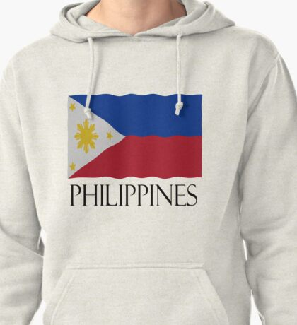 Philippines flag Pullover Hoodie