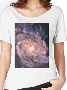 Galaxy Print Women's Relaxed Fit T-Shirt