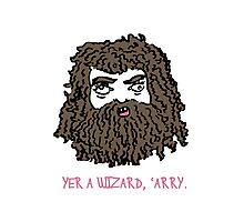 Hagrid Photographic Print