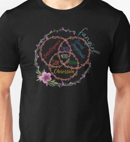 fangirl x dork x nerd Unisex T-Shirt